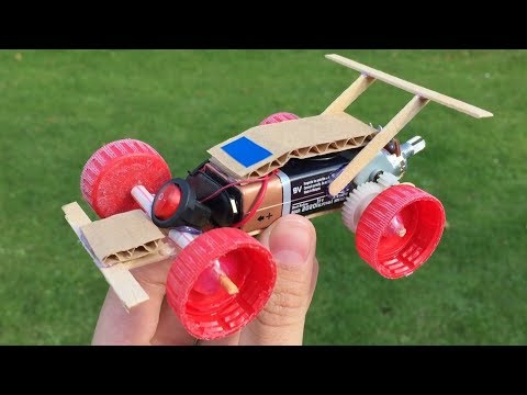 Download Youtube: How to Make a Car that can change Speed - DIY Powerful Electric Mini Car