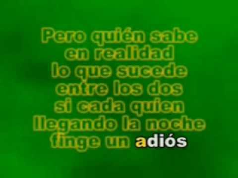 Karaoke Ana Gabriel - Simplemente Amigos.