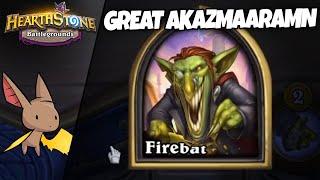 The GREAT Azamakrakaraararma | Firebat Hearthstone Battlegrounds