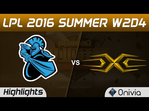 NB vs SS Highlights Game 1 Tencent LPL Summer 2016 W2D4 NewBee vs Snake
