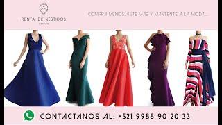 Renta de vestidos de fiesta cancun