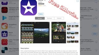 How to download iMovie for Free on iOS