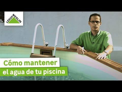 Cómo mantener el agua de tu piscina (Leroy Merlin)