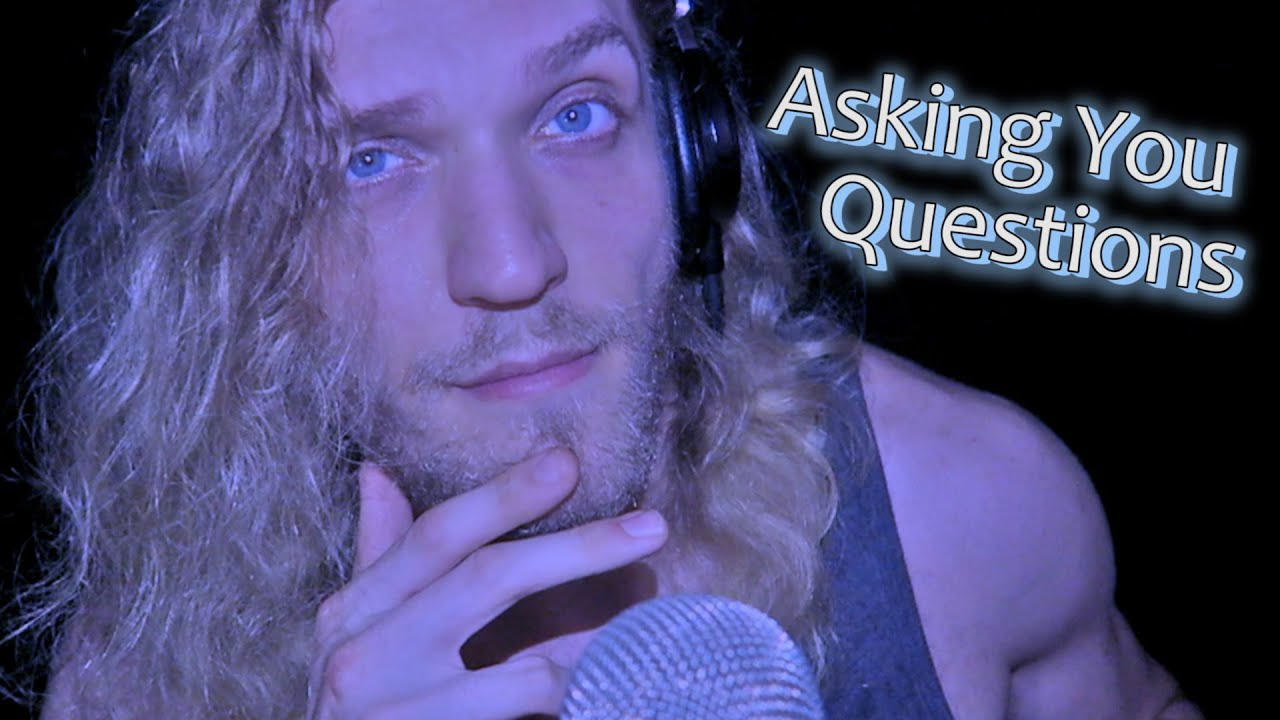 ASMR Asking You Personal Questions, Talking To You | Deep Male Voice Talking & Whispering ❄️