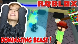 the beast is dominating rounds in roblox flee the facility   run hide escape