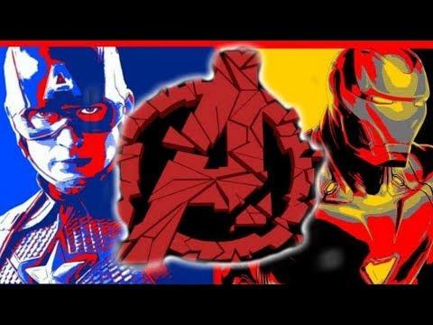 NEW Avengers Endgame LOGO & Promo Art