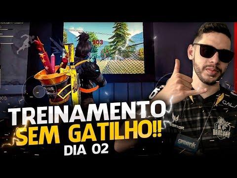 🔴 FREE FIRE 🔴 AO VIVO - TREINAMENTO COMEÇOU ! ADEUS GATILHO #2  - RUMO AOS #530K INSCRITOS