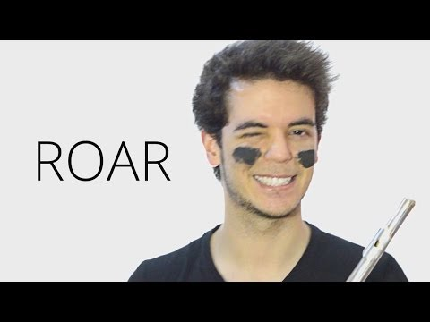 Roar - Katy Perry - Amazing Flute Cover Music [Free Notes Download] Lyrics