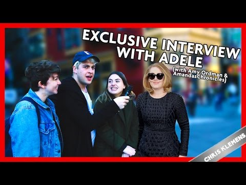 Exclusive Interview With Adele (with Amy Ordman And Miles McKenna) | Chris Klemens