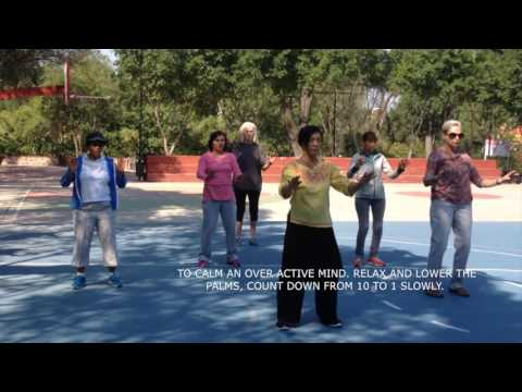 Peace Qi Gong for better sleep and rest