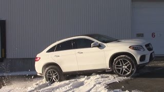 AWD TEST: 2016 Mercedes-Benz GLE coupe 350D : Offroad test / 4Matic Test