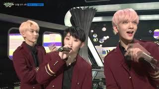 뮤직뱅크 –  11월 3주 1위 세븐틴 - '박수 세리머니 Cut'