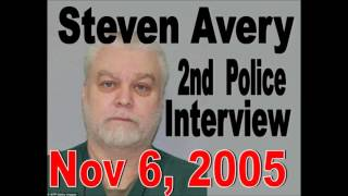 Steven Avery 2nd Police Interrogation / Interview Nov 6, 2005 - Making a Murdererer Teresa Halbach