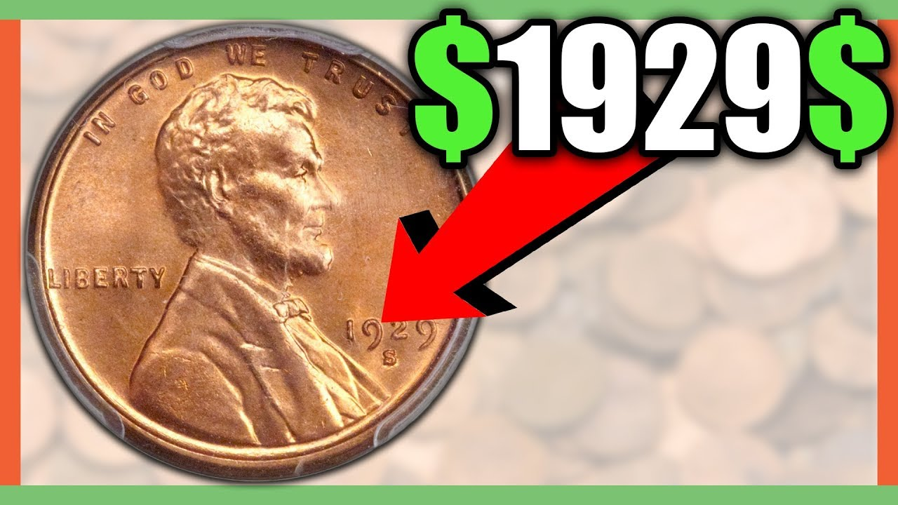 WHAT IS A 1929 WHEAT PENNY WORTH? RARE PENNY COINS WORTH MONEY!!