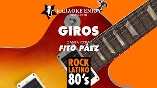 Giros - Fito Paez (Versión cover Karaoke con letra pintada)