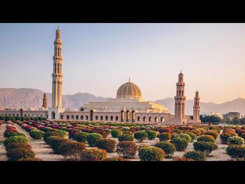 Sultan Al Qaboos Grand Mosque at Muscut - Oman