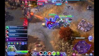 *Alpha* Heroes of the Storm - Gameplay - Kleiner, Plage von Dunkelhain (Stitches)