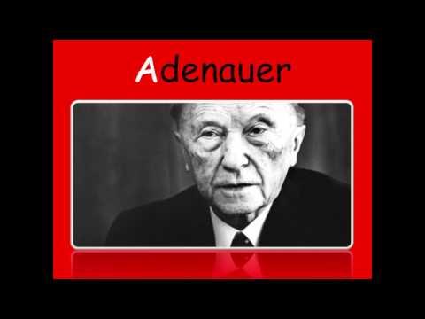 A-wie Adenauer - Konrad Adenauer Handeln und Entscheidungen