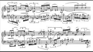 Scelsi - Piano Sonata No. 3 : I Lento, rubato