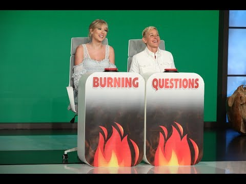 kelly - Taylor Swift And Ellen's 'Burning Questions'