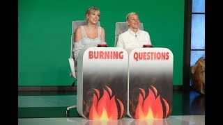 Taylor Swift Answers Ellen's 'Burning Questions'