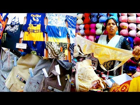 Asia biggest Garments Market in Bangladesh for middle class