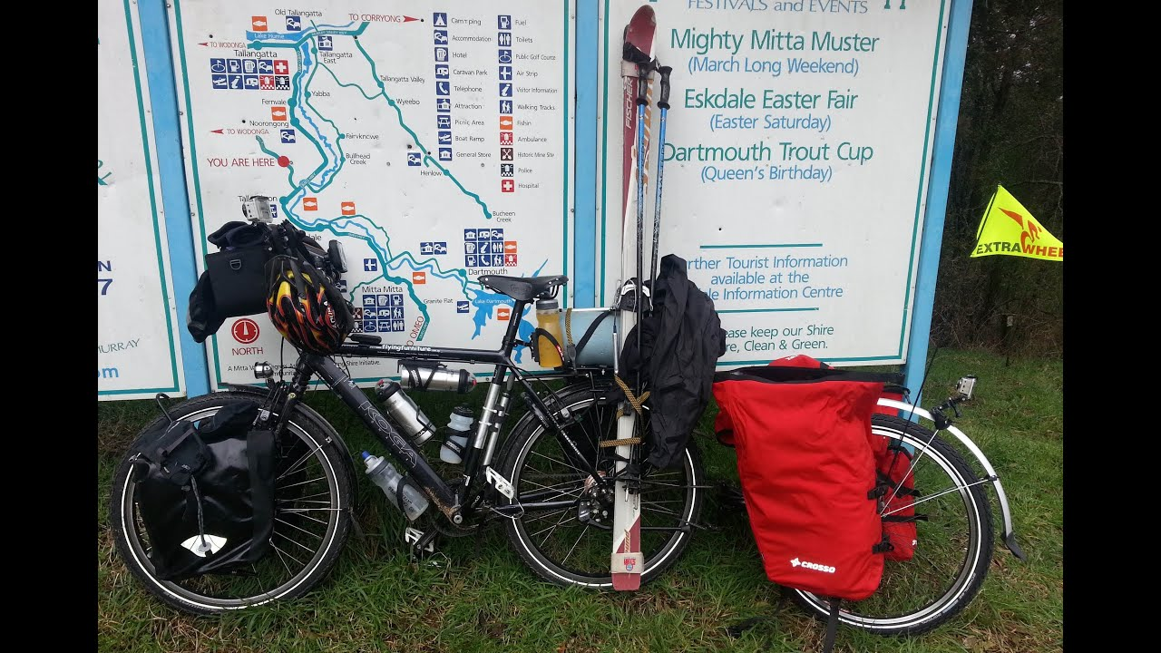 Bicycle Touring Ski Mt Wills North East Victoria Australia