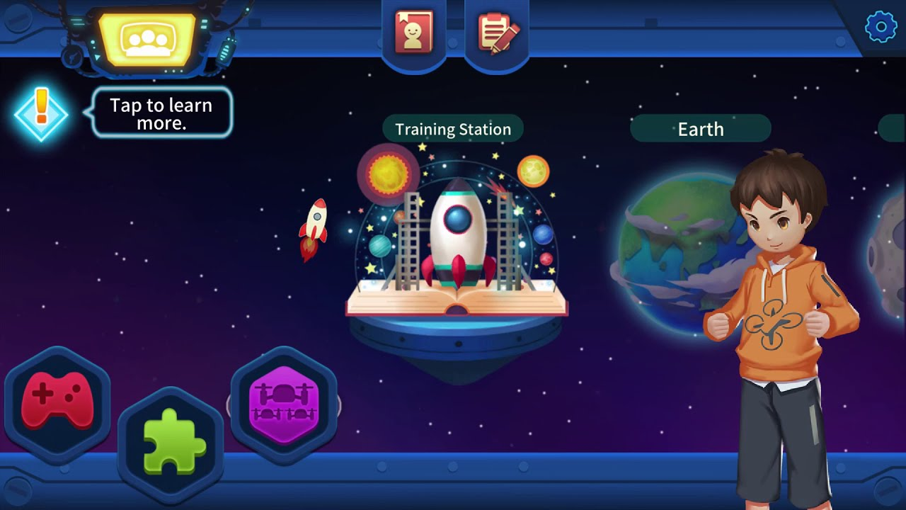 Tello EDU APP - Take a glance inside