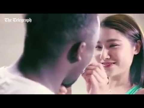 'Racist' Chinese advert appals viewers ( The Telegraph)