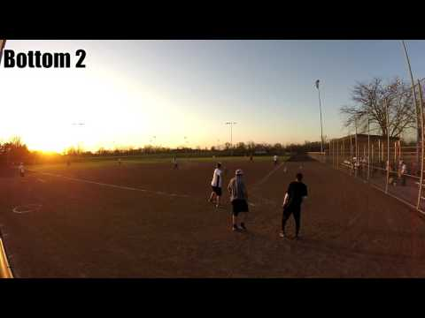 Columbia B League action! Pipe Layers vs Cobra Kai