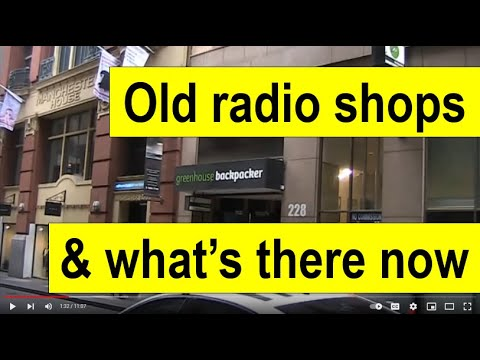 Old electronics and radio shops in Melbourne: Part 2  1960s - 1990s