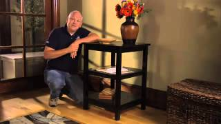 Woodworking Plans - How To Build An Accent Table  Introduction