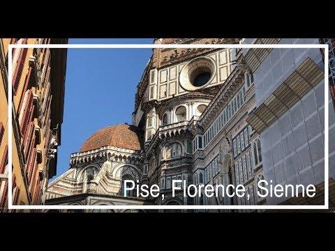 DE PISE A SIENNE EN PASSANT PAR FLORENCE _🍕🚴