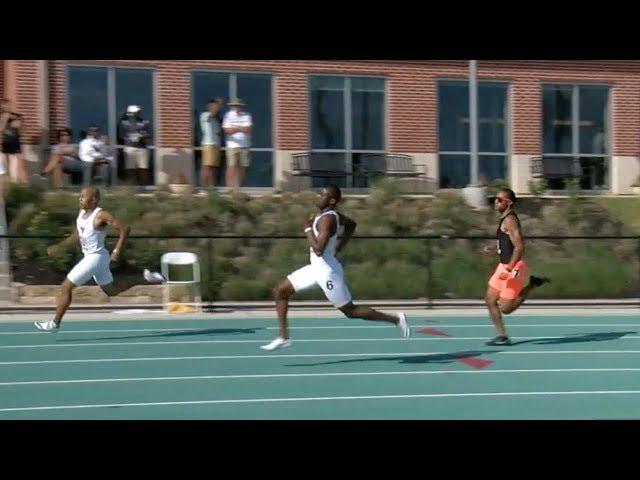 Derrick Mokaleng 45.02 400m | 2018 Big 12 Outdoor Championship