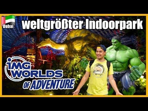 größter Indoorfreizeitpark der Welt | IMG Worlds of Adventure Dubai