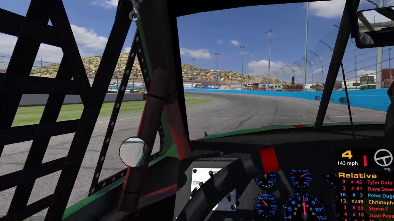 Oculus Rift VR  Iracing Crash, Crash, Crash  Phoenix International Raceway