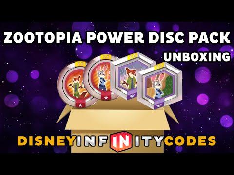 Download Zootopia Power Disc Pack Unboxing - Disney Infinity 3.0