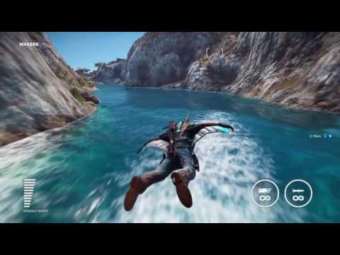 Just Cause 3 free roam jet pack wing suit