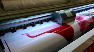 Печать баннера кофе