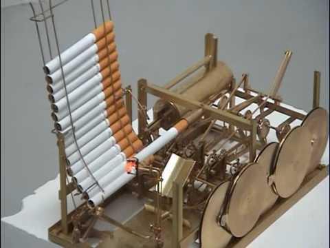 Smoking machine by Kristoffer Myskja