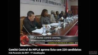 João Gonçalves Lourenço lider do MPLA
