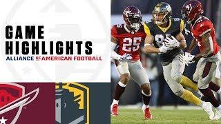San Antonio Commanders vs. San Diego Fleet | AAF Week 3 Game Highlights