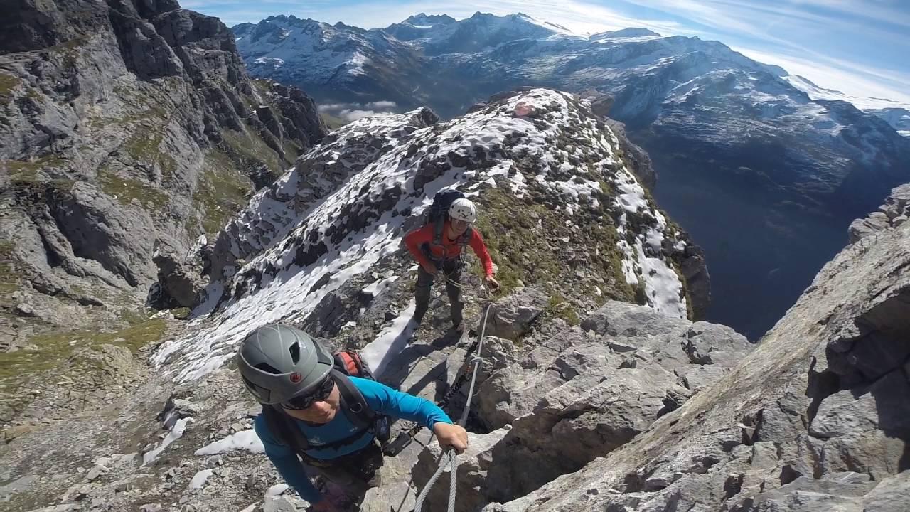 Klettersteig Tälli : Tälli klettersteig youtube