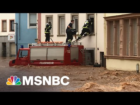 More Than 100 Dead In Germany Flooding As Rescue Effort Continues