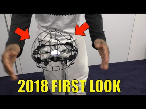 Air Hogs SUPERNOVA RC - First Look, Toy Fair 2018, Control With Your HANDS!