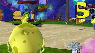 SpongeBob: Truth or Square Playthrough Part 5 - Level Three