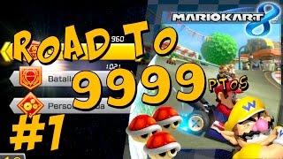 road to 9999 1 creo que he roto algo mario kart 8
