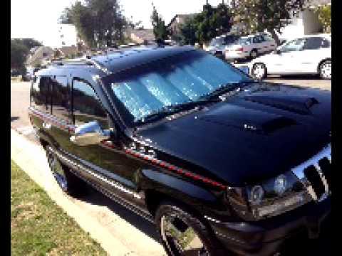 2012 Jeep Grand Cherokee Laredo >> Custom 2000 jeep grand cherokee - YouTube