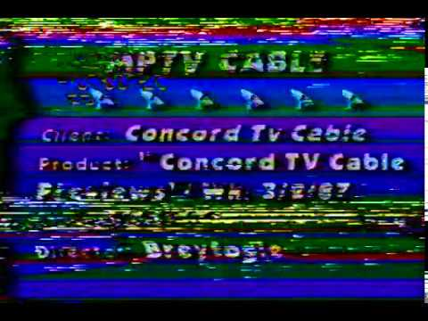 Concord TV Cable Previews  3 2 87