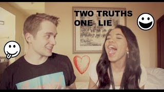 2 TRUTHS, 1 LIE CHALLENGE Thumbnail